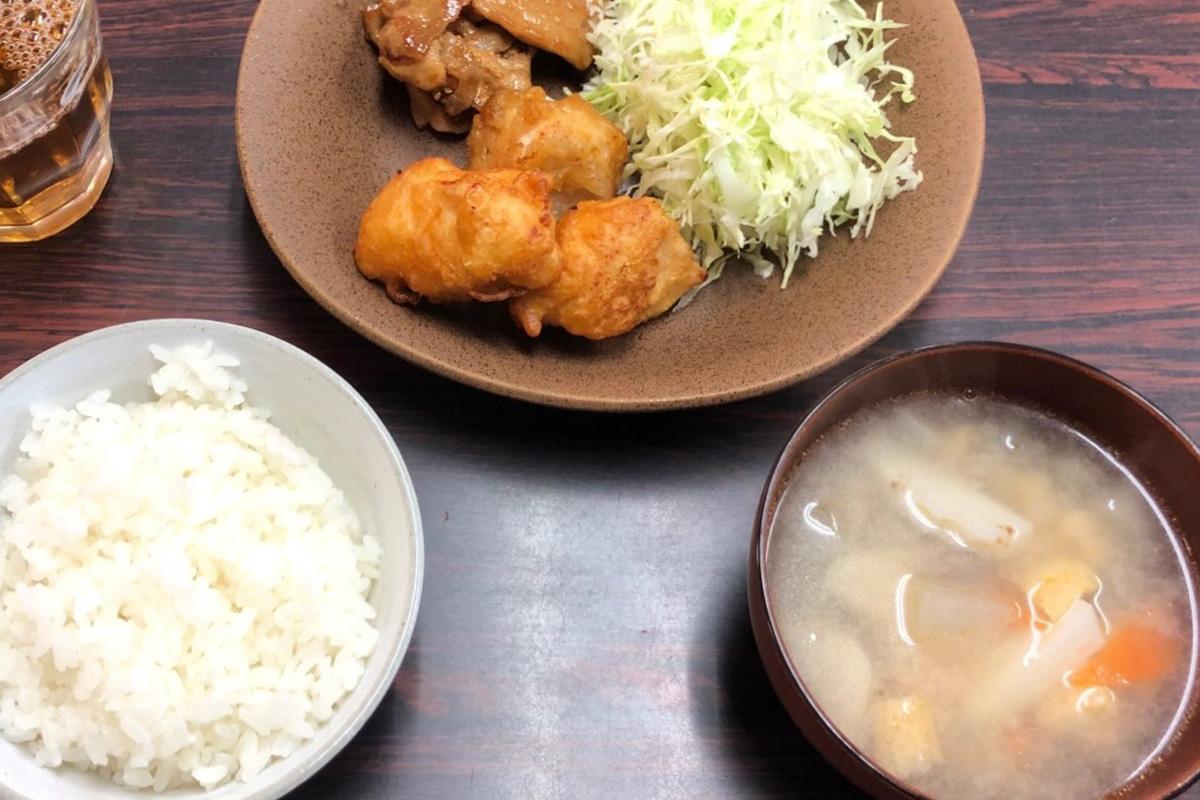 昼食会メニュー3品