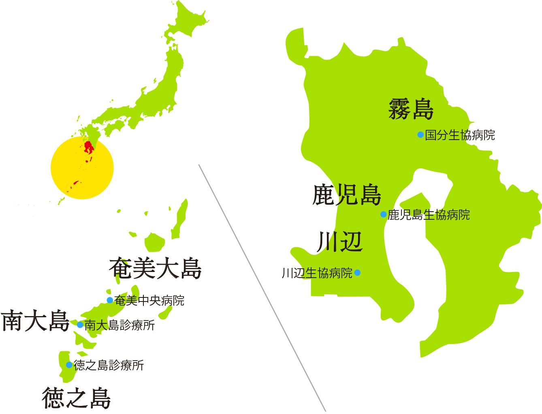 生協病院 地図
